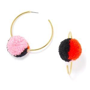 BAUBLEBAR Pom-Pom Hoop Earrings